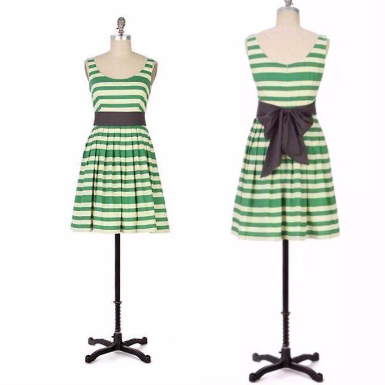NWT Anthropologie Corey Lynn Calter CARANDAY Cotton Striped Dress size 6, S