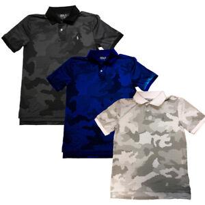 Polo Sport Boys Camouflage-Print Polo