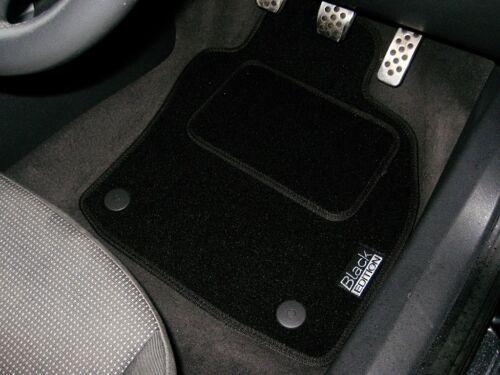 LOGHI BLACK Edition Tappetini Auto Per Adattarsi Audi A7 S-LINE 2010 in