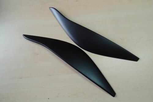 Eyebrows for VAUXHALL OPEL INSIGNIA A Standard headlight eyelids ABS Plastic