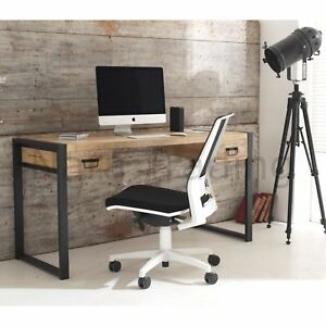 Image Is Loading Harbour Indian Reclaimed Wood Furniture Computer Office Desk