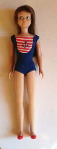 Vintage-Barbie-Skipper-Bend-Leg-1120-Original-1965-66-Mattel-Collectable-Rare