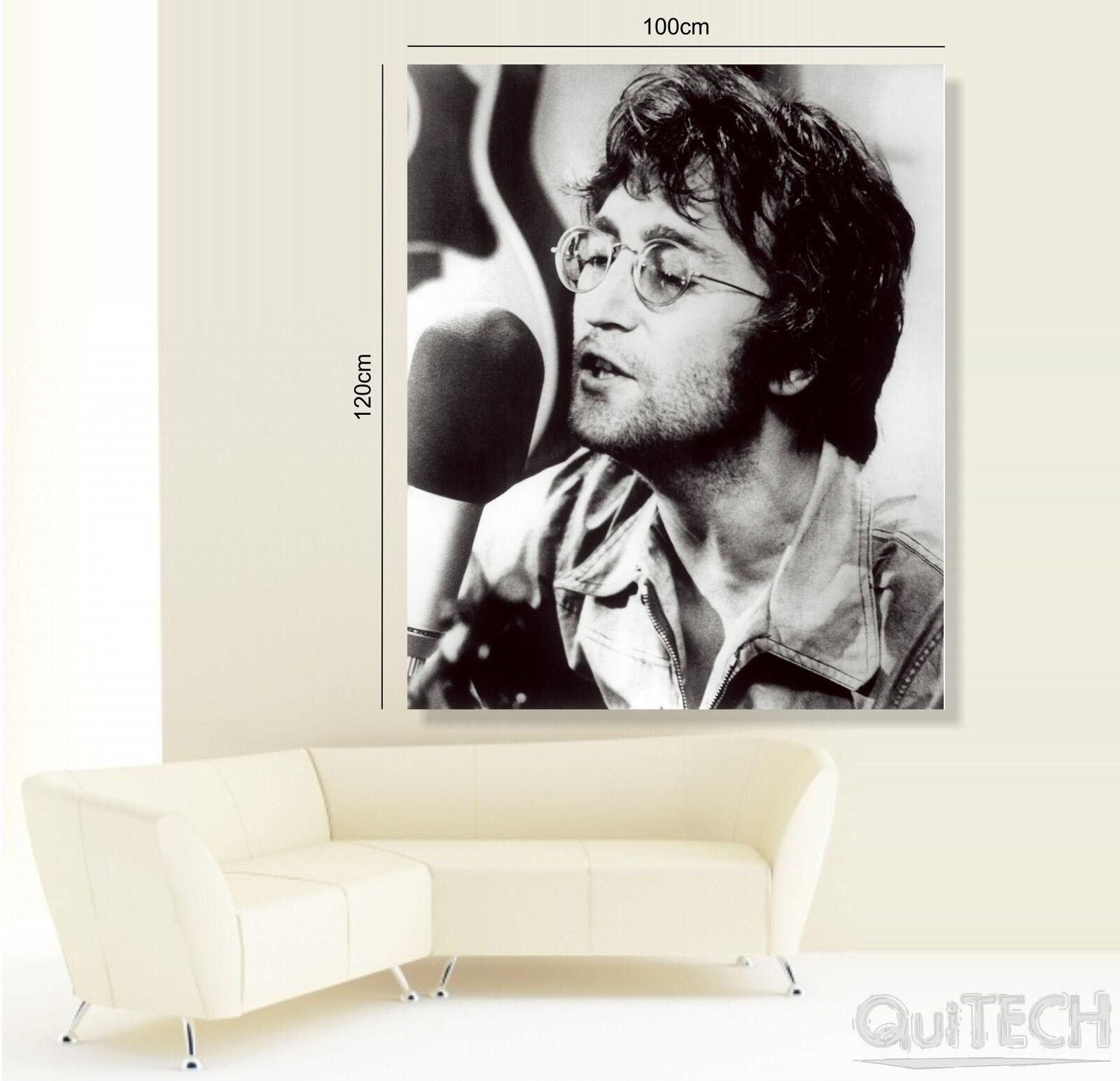 John Lennon - 8 Pelle - Quadro stampa su Tela Pelle 8 Canvas Dipinto Arte Moderna 927afc