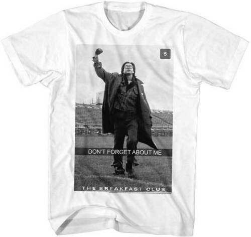 The Breakfast Club Don/'t Forget About Me FF Adult T Shirt Classic Movie