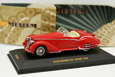 Ixo 1/43 - Alfa Romeo 8C 2900B Rouge 1938