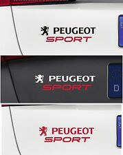 Para Peugeot - 'Peugeot Sport' Coche Decal Sticker - 106 206 208 308 - 195 X 40mm