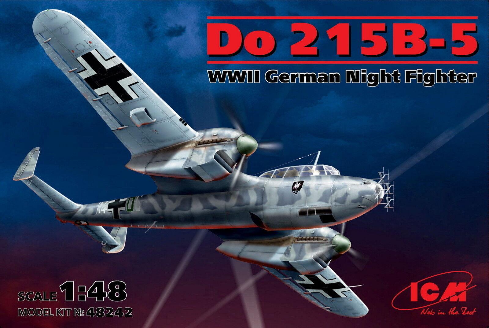 ICM 48242 Do 215B-5 WWII German night fighter 1 48