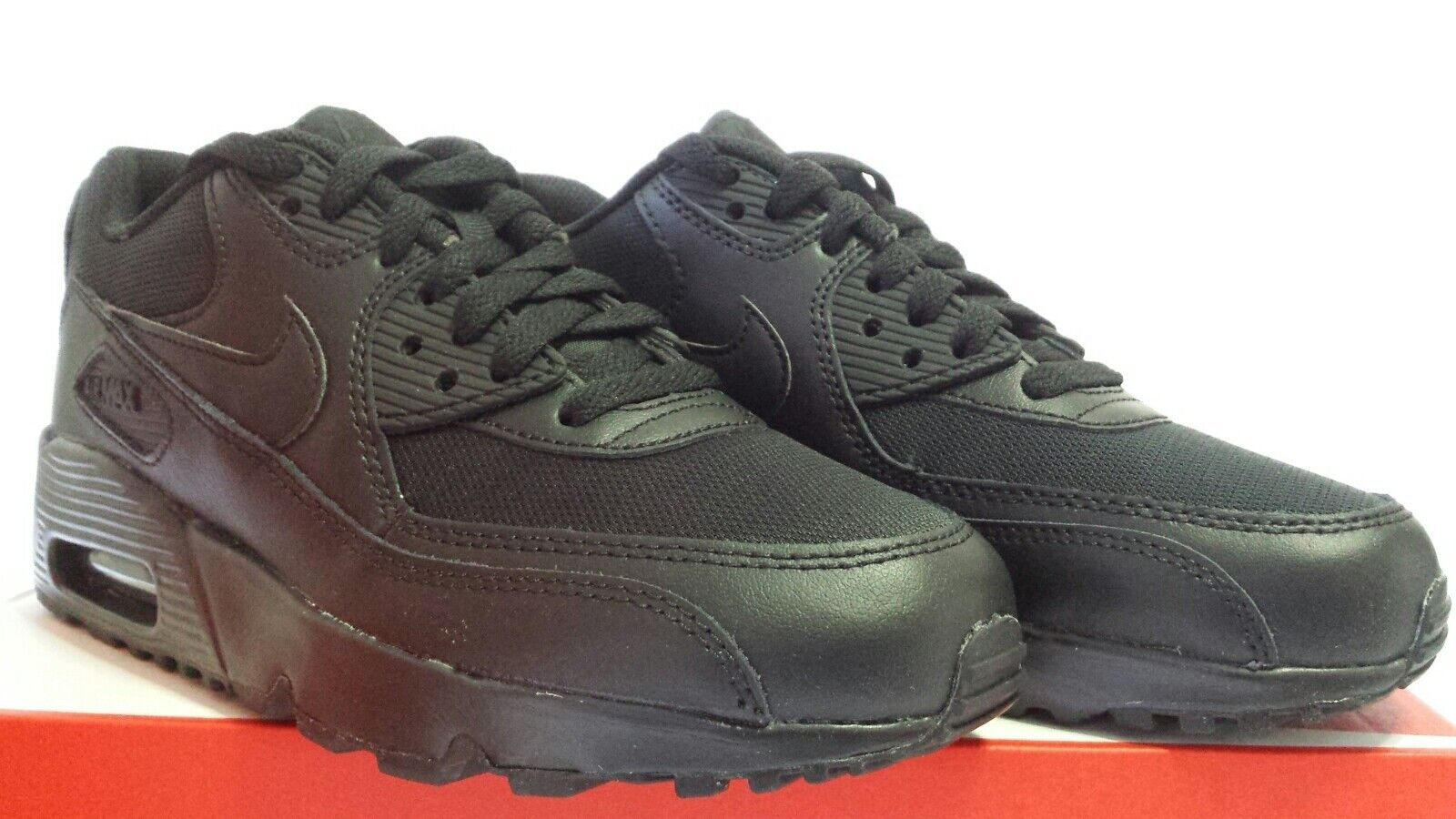 NIKE AIR MAX 90 97 NOIR TOTAL APPEL BLACK N.36,5 PRIX SURBAISSéE APPEL TOTAL e7ee60