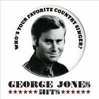 The Hits by George Jones (CD, Nov-2011, 2 Discs, Vanguard)