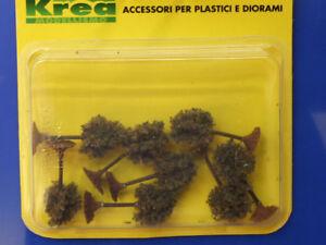 Alberelli Verde Scuro Per Modellismo Pz. 8 - H.cm.4 -1/160-n - Krea