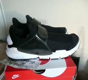 more photos d9ccc 59a01 Details about Nike Sock Dart SE 'Oreo' (2016) Size 11 Black/Black-White  833124 001 NEW + BOX