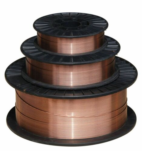 """11 lb Spool ER70S-6 .030/"""" Solid MIG Welding Wire2 each"""