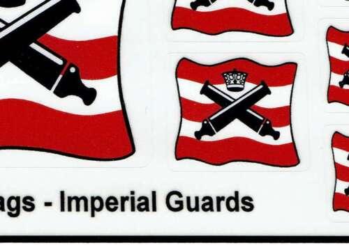 Precut Custom Sticker for Pirates Imperial Guards Flags