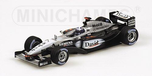 McLaren Mercedes  MP4 17d D. Coulthard 2003 1 43 Model MINICHAMPS  meilleur service