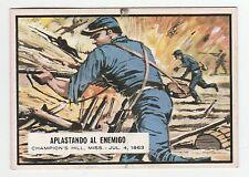 Topps A&BC Civil War News Gum Card Spain Spanish language printing #48