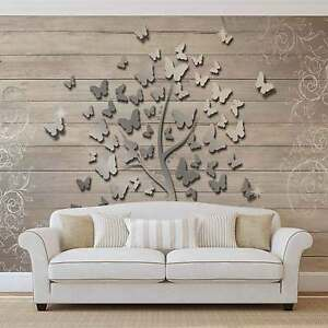 Schmetterlinge-Baum-VLIES-FOTOTAPETE-TAPETE-MURAL-3594DK