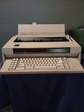 Vintage Ibm Wheelwriter 6 Type 674x Electronic Typewriter 1986 5441