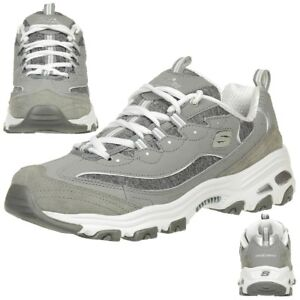 Neu Skechers Damenschuhe Sneaker D´LITES ME TIME Sportschuhe Turnschuhe Schuhe