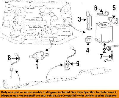 2009 hyundai evap diagrams hyundai oem 95 05 accent vapor canister purge valve 2891022040 ebay  accent vapor canister purge valve