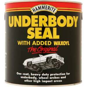 Hammerite-Under-Body-Seal-2-5LTR-Rust-Treatment-Contains-Waxoyl-Brush-On-Paint