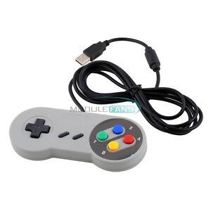 Wired-USB-SNES-Controller-Retro-Gaming-Joystick-Joypad-Gamepad-For-Nintendo
