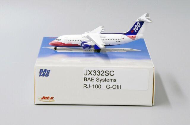 """JET-X JX306 AIRCAL BRITISH AEROSPACE BAe-146-200 N146AC 1:400 3/"""" DIECAST PLANE"""