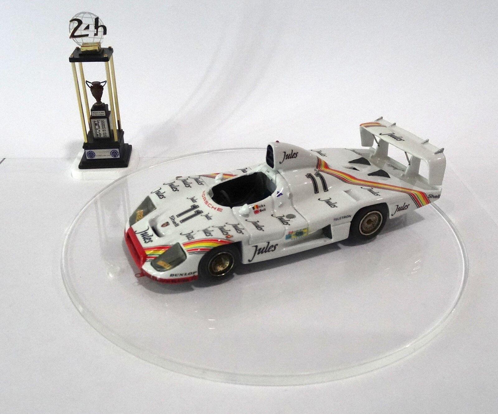 PORSCHE 936-81  11 JULES Le Mans 1981 Built Monté Kit 1 43 no spark MINICHAMPS