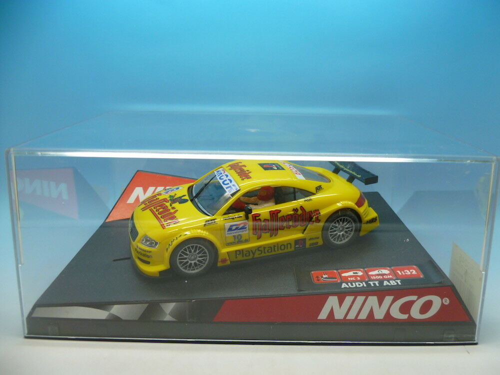 Ninco 50245 Audi TT-R ABT, No 10 yellow, mint unused