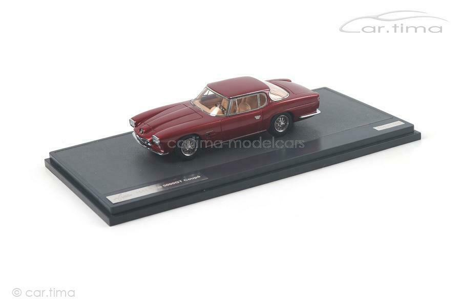 MASERATI 5000 GT Frua COUPE 1963-rosso met. - Matrix Scale Models - 1 of 408 - 1