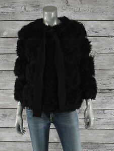 Moncler-Premiere-Black-Platine-Shearling-Fur-Down-Jacket-New-3675