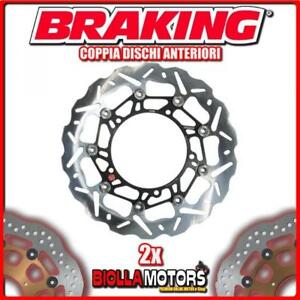 WK001L-WK001R-PAIRES-DISQUES-DE-FREIN-AVANT-DX-SX-BRAKING-LAVERDA-STRIKE-750cc