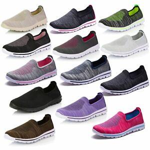 DailyShoes-Women-039-s-Sneakers-Slip-on-Running-Walking-Memory-Foam-Breathable-Shoes