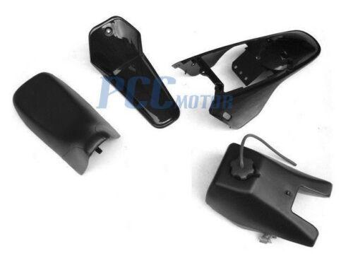NEW AFTERMARKET Yamaha PW80 PW 80 TANK SEAT PLASTIC KIT BLACK U PS49