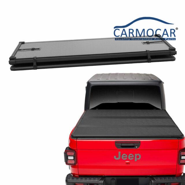 Jdmspeed Hard Solid Tri Fold Tonneau Cover For 2020 Jeep Gladiator Jt Pickup For Sale Online Ebay