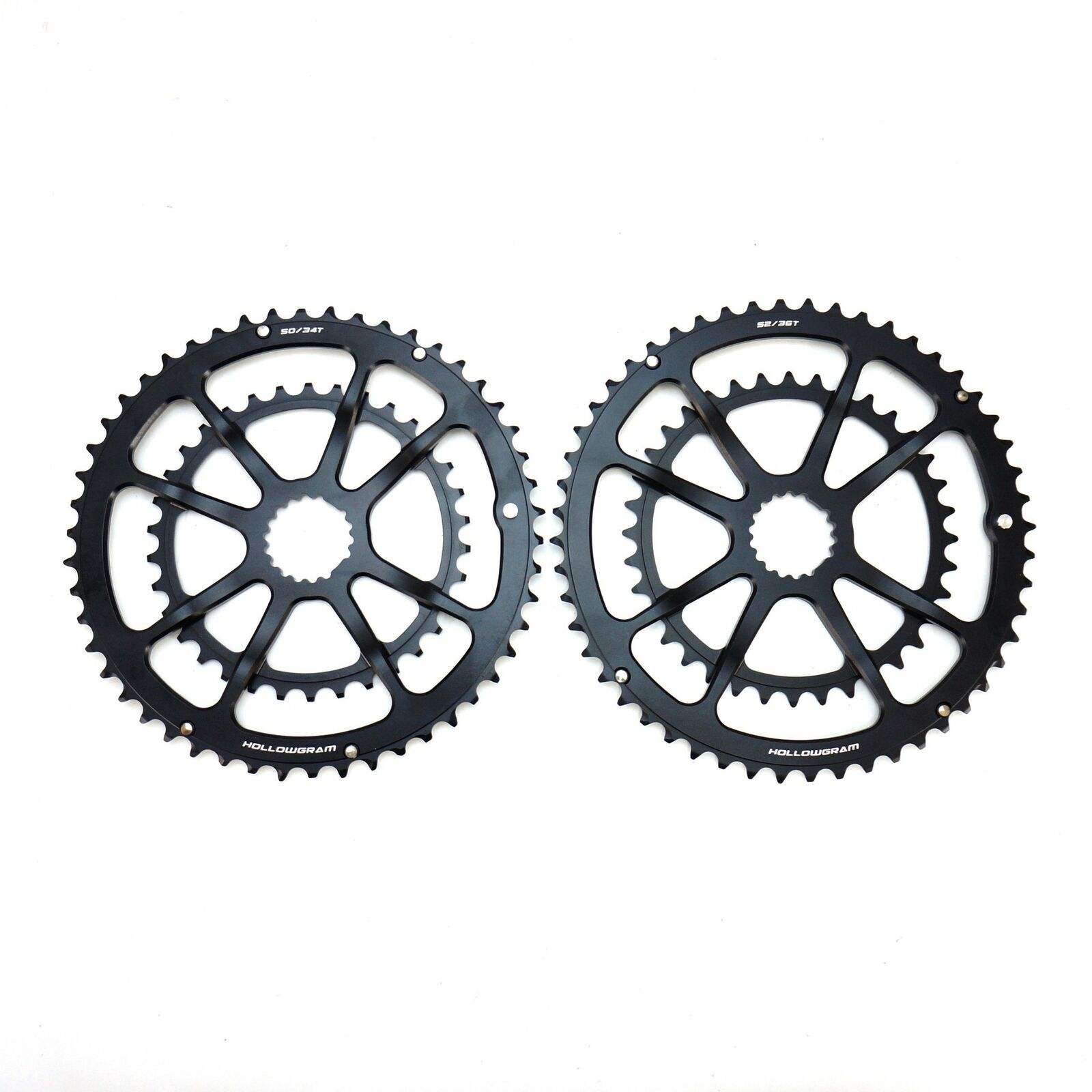 Carbon-Ti X-CarboRing BCD110 x 5 Bolts Bicycle Inner Chainring 34T//36T//39T