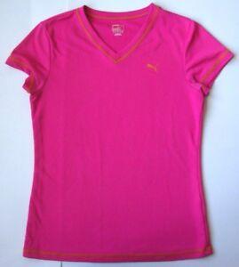 361980e68ba8 Image is loading Women-039-s-PUMA-DRY-CELL-Shirt-size-