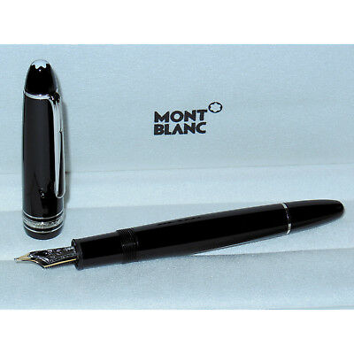 24908300fe5d2 Montblanc Meisterstuck Legrand Traveler Fountain Pen Black platinum ...