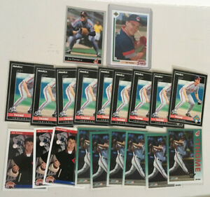 Jim Thome 20 Card ROOKIE Lot. 1991 Final Ed.-1992 Pinnacle-Upper Deck-Fleer-Leaf