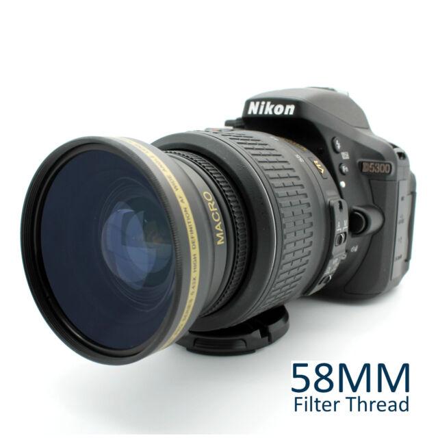New Wide Angle Macro Lens for Nikon AF-S Nikkor 50mm f/1.8G & 50mm f/1.4G Lens
