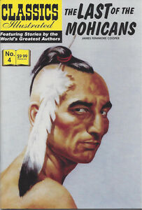 Modern Classics Illustrated Canadian Issue The Last Of The Mohicans