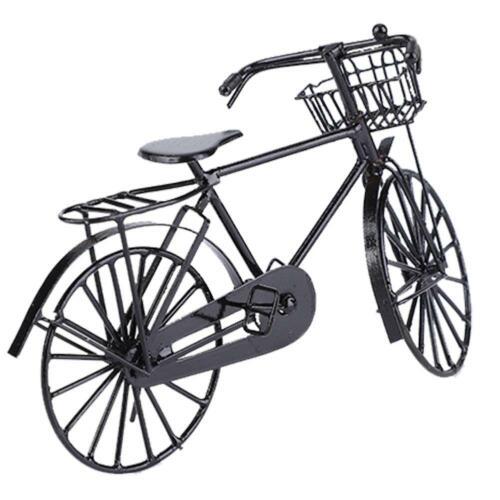 1:12 Miniature Metal Bike Bicycle Doll House Dollhouse Accessory Decor