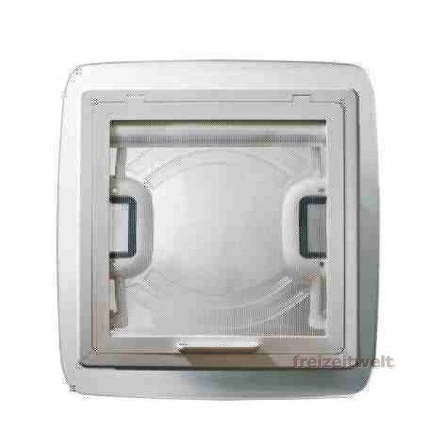 MPK Dachhaube Vision Vision Vision Vent S eco, 280 x 280 mm, weiß, mit Fliegenschutz neu 940b7c