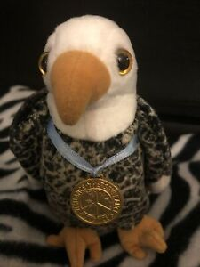 Ty Original Beanie Baby Valor The Bald Eagle With Medal 2003 Retired