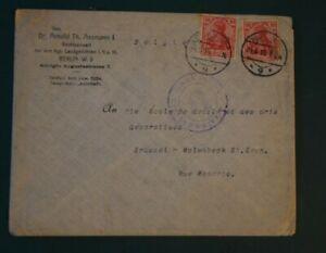 DEUTSCHES-REICH-Zensurbrief-1915-Berlin-nach-Bruessel