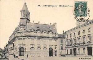 CPA 61 ALENCON HOTEL DES POSTES