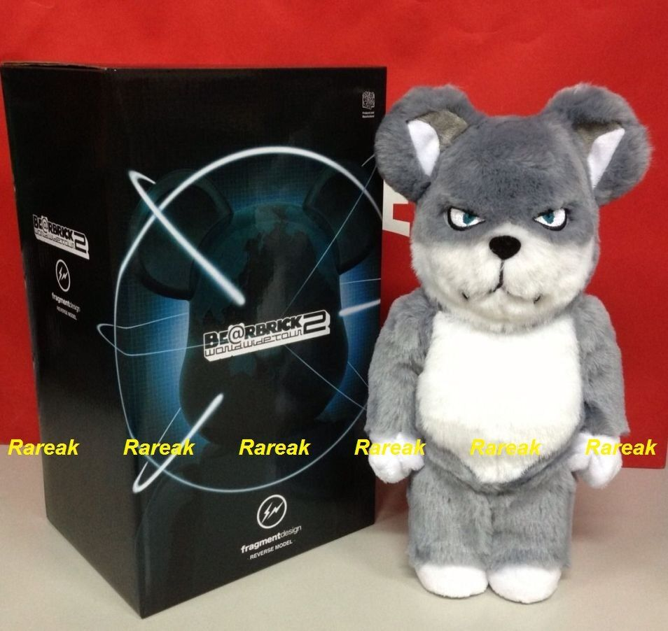 Medicom Be@rbrick fragmento Diseño 400% Hf ovejas Wolf Inversa Modelo Bearbrick