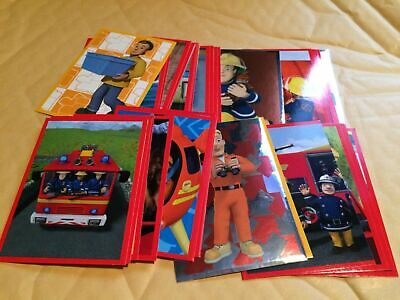 FULL SET of Fireman Sam Stickers 2016 Panini 184 Stickers including specials