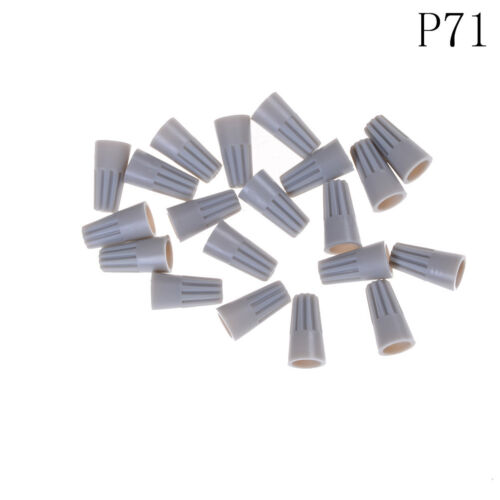 20Pcs Electrical Wire Twist Connectors Assorted Wire Twist Nut Connector BSCA