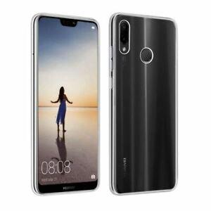 Huawei-p30-Lite-Silicone-Housse-de-protection-TPU-Back-Case-Cover-Gel-Transparent-Clair