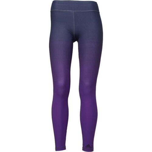 Blu Miracle viola £ Stright Womens Sculpting Adidas 94 Rrp Bnwt Slimming Leggings HUxwq1BY5